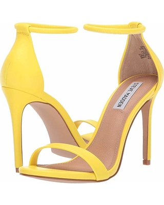 Don't Miss Sales on Steve Madden Soph Heeled Sandal (Yellow) High .