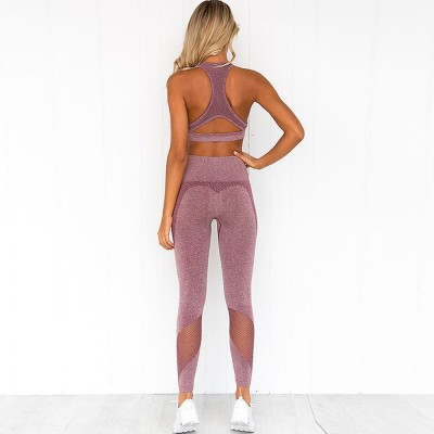 Yoga Clothes Sets Tank Top, High-Waist Leggings 2 Piece Sets for .